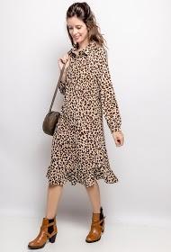 JCL PARIS leopard dress