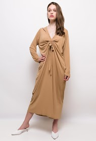 JCL PARIS long stretch dress