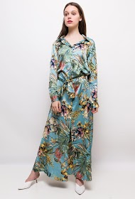 JCL PARIS tropical long dress