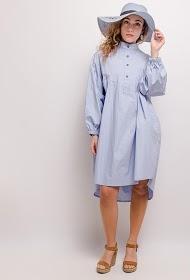 JCL PARIS robe oversize