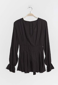 JESSY ET CO wrap blouse