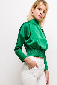 JESSY ET CO satin blouse