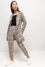 JESSY ET CO checked suit