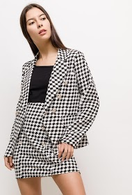 JESSY ET CO houndstooth costume