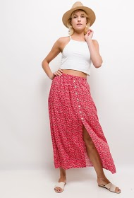 JESSY ET CO flowery skirt