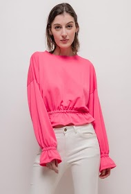 JESSY ET CO ruffled sweatshirt