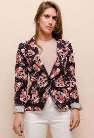 JOLIFLY jolifly print blazer