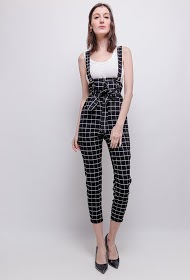 JOLIFLY checked jumpsuit