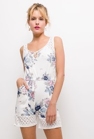 JOLIFLY printed playsuit