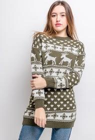 JOLIFLY maglione natalizio tunic