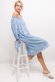 JOLIFLY striped dress