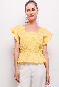 JOLIO & CO blouse with lace