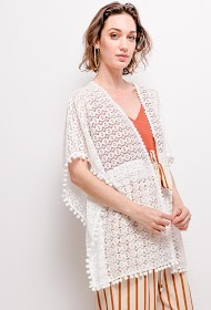 JOLIO & CO lace kaftan