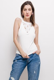 JOLIO & CO tank with embroidery