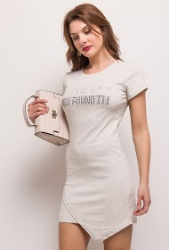 JOLIO & CO hey t-shirt dress and rhinestones