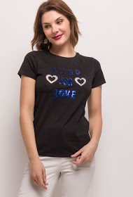 JOLIO & CO t-shirt blind for love