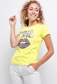 JOLIO & CO t-shirt fearless female