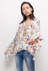 JÖWELL blouse ample tropical