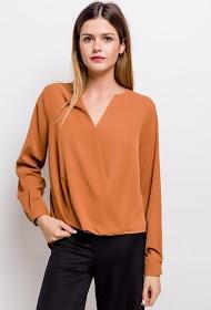 JÖWELL wrap blouse