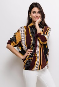 JÖWELL printed blouse