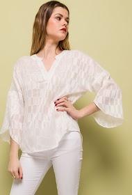 JÖWELL blusa brilhante