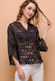 JÖWELL transparent blouse