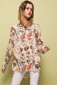 JÖWELL chemise ample imprimée
