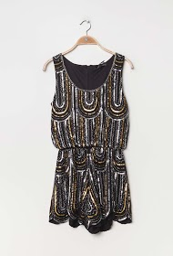 JÖWELL playsuit with sequins