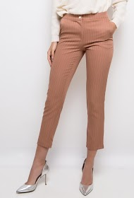 JÖWELL pantalon à rayures