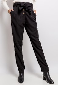 JÖWELL thick trousers with buttons