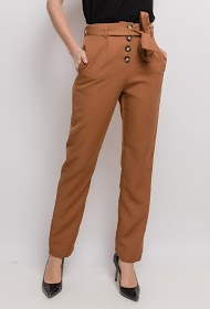 JÖWELL chic trousers with buttons