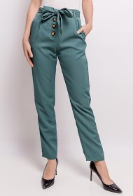 JÖWELL pants with buttons