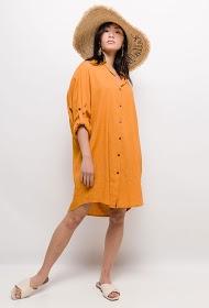 JÖWELL linen blend shirt dress