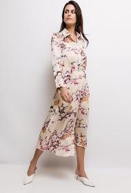 JÖWELL flowery shirt dress