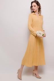 JÖWELL long floral shirt dress