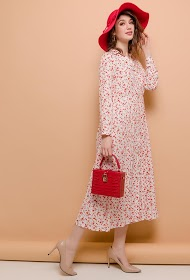 JÖWELL long printed shirt dress