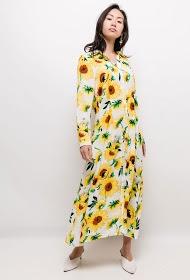 JÖWELL sunflower shirt dress