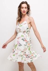 JÖWELL robe coton mélangée dos ouvert
