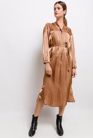 JÖWELL metallic effect dress
