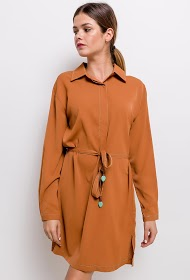 JÖWELL flowing dress with collar