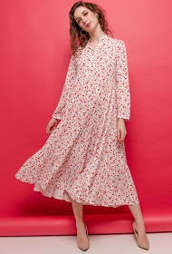 JÖWELL robe longue ample fleurie