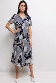 JÖWELL printed long dress