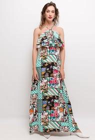 JÖWELL robe longue imprimé patchwork