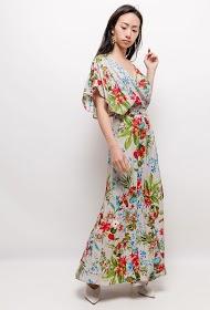 JÖWELL long dress with fancy shoulders
