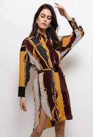 JÖWELL printed mid-length dress
