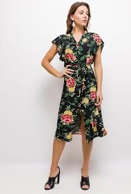 JÖWELL vestido midi floral