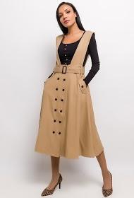 JÖWELL cotton overalls dress