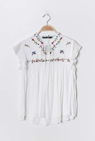JÖWELL embroidered blouse