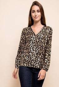 JUBYLEE chemise léopard