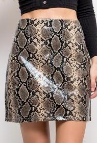 JUBYLEE skirt with python print
